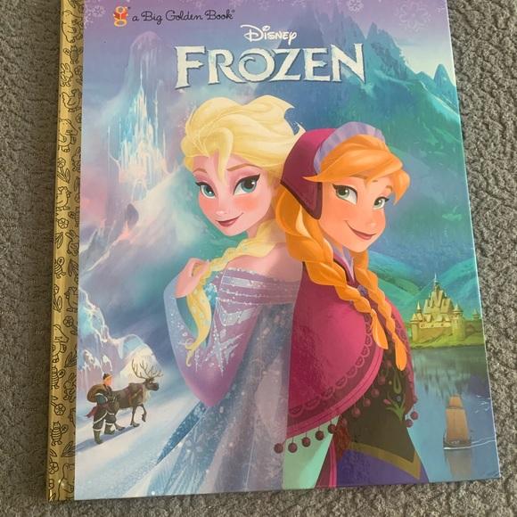 Disney's Frozen Hard Cover Book New